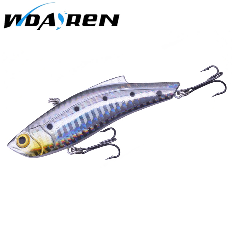 1Pcs Blade Sinking 9cm 26.5g Vibration VIB Fishing Lure Artificial Hard Winter Ice Fishing Wobblers Pike Bait Tackle Isca Peche