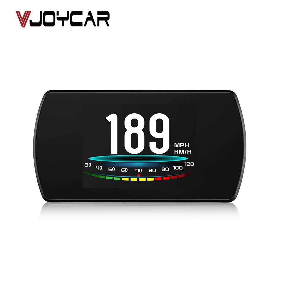 VJOYCAR P12 5,8 TFT OBD Hud cabeza hasta la pantalla Digital coche velocidad proyector ordenador de a bordo OBD2 velocímetro parabrisas projetor