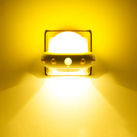 Bedroom mini bedside lamp creative dream baby feeding energy saving lamp remote control plug in night light AP8111528
