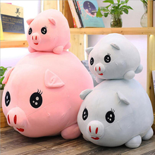 Cute Fat Pig Short Plush Toy Stuffed Animal Pig Doll Toys Soft Plush Pillow Children Birthday & Christmas Gift