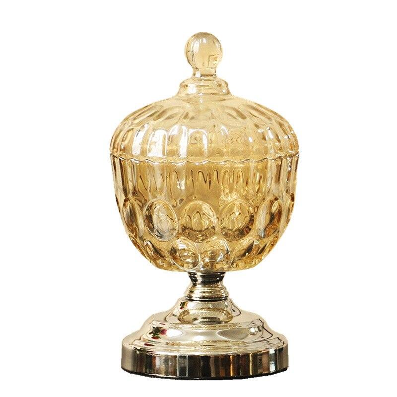 Creative verre stockage Jar décoration cuisine outil créatif stockage canettes ornements salon boîte de rangement décoration de la maison cadeaux