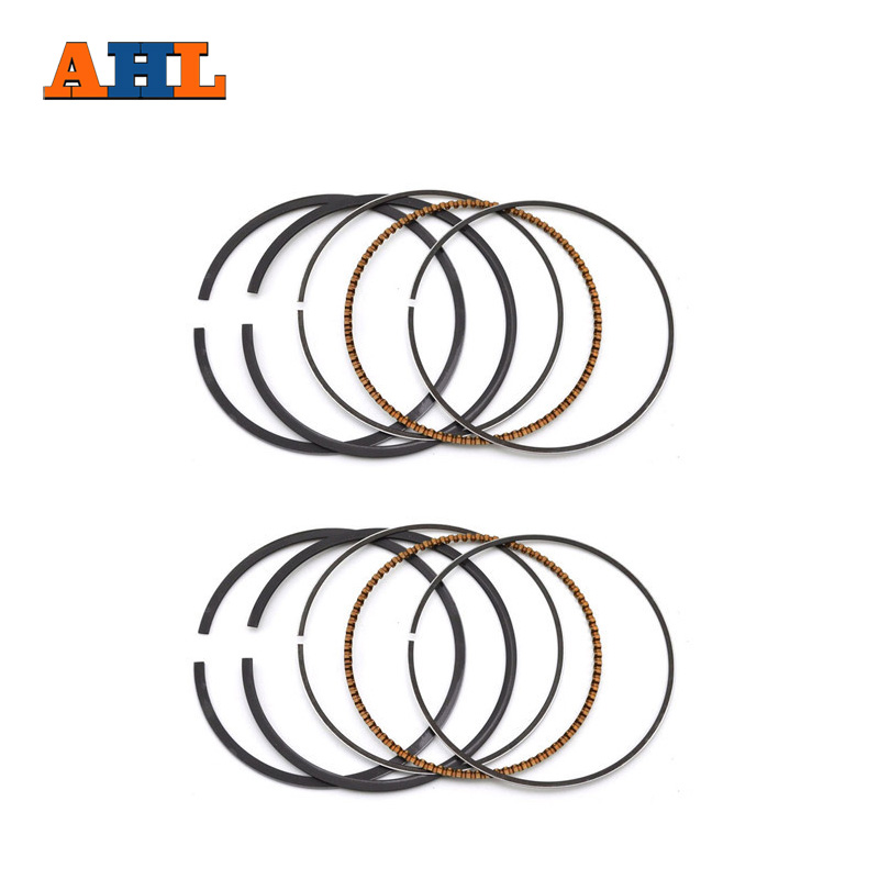 AHL 60mm Piston Rings For HONDA VTF250 VT250F 1983 1988