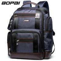 BOPAI Brand Multifunction Travel Backpack Bag Large Capacity Shoulders Bag Laptop Backpack Fashion Men Backpack Size
