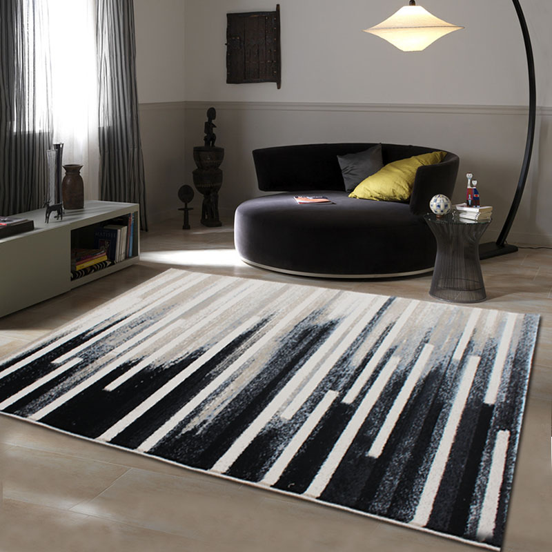 US $80.1 10% OFF|WINLIFE Luxury European Style Abstract Carpet,  Contemporary Sitting Room The Bedroom Rugs, The Manual Wool Mats.-in Carpet  from Home ...