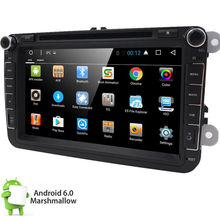 Android 6.0 Double Din Car DVD Player Radio Stereo in dash car styling GPS Navigation For VolksWagen VW support steering wheel