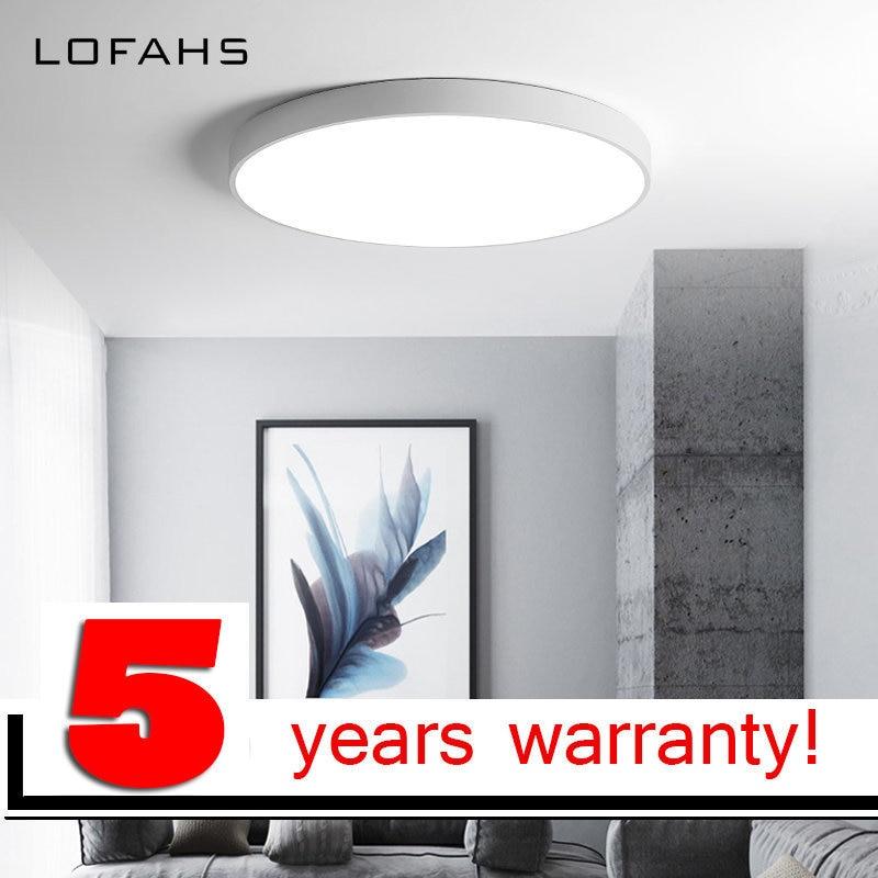 LOFAHS Moderne plafond-lumières et haute qualité plafonniers pour le Bureau d'hôtes vivant étude lit chambre ultra- mince Chaude led-lampe