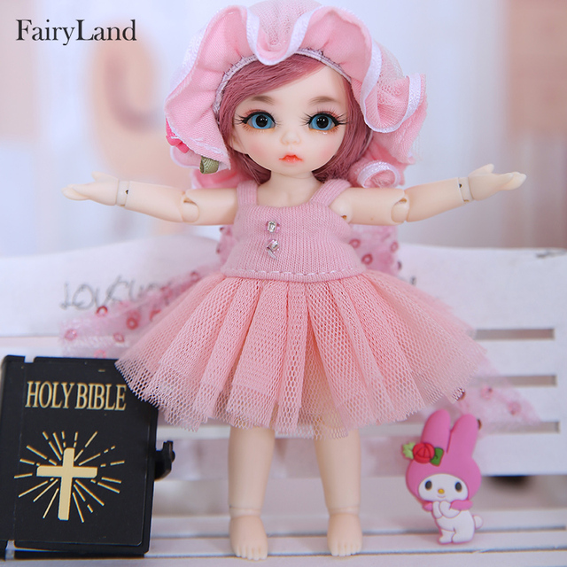Fairyland Pukipuki Ante Bjd Sd Doll 1 12 Body Model Girls Boys Eyes High Quality