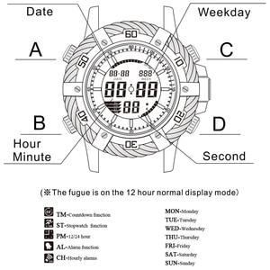 Image 2 - ด้านบนยี่ห้อนาฬิกาข้อมือ GOLDENHOUR Luxury Analog นาฬิกา Mens Sport กันน้ำนาฬิกาข้อมือควอตซ์แฟชั่น Relogio Masculino