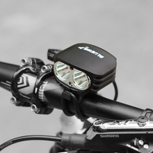 BLUEWILD Bicycle Light 2x CREE XMK T6 Lamp Bike Flashlight + 10400mAh Battery Pack with USB & DC Output can Charging Phone