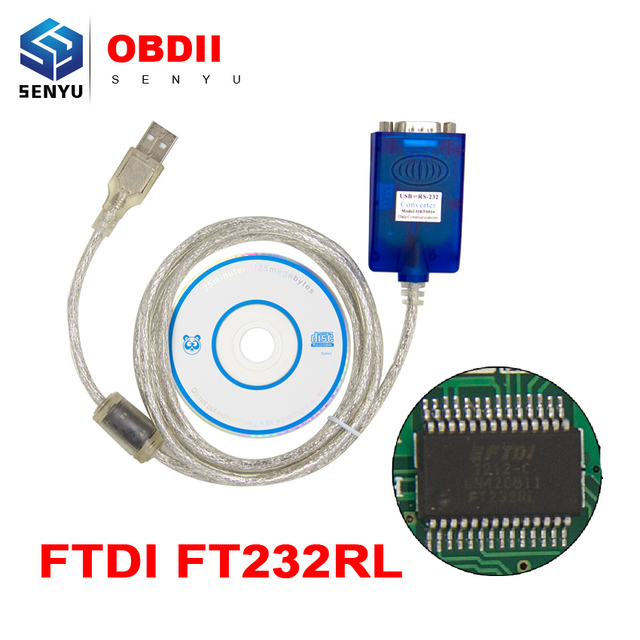 FTDI SERIAL-USB OBD DRIVER FOR WINDOWS