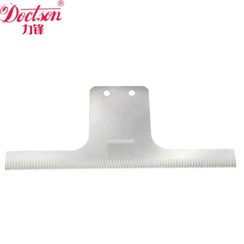 China fabriek verpakkingsmachine tandmes, tandblad voor het snijden van plastic folie Verpakkingsmachine gekarteld zigzag snijblad