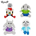 New 2017 Cute Baby Plush Toys Undertale Doll Sans Papyrus Toriel Asriel Cartoon Animation Stuffed Doll Plush Toy For Kids Gifts