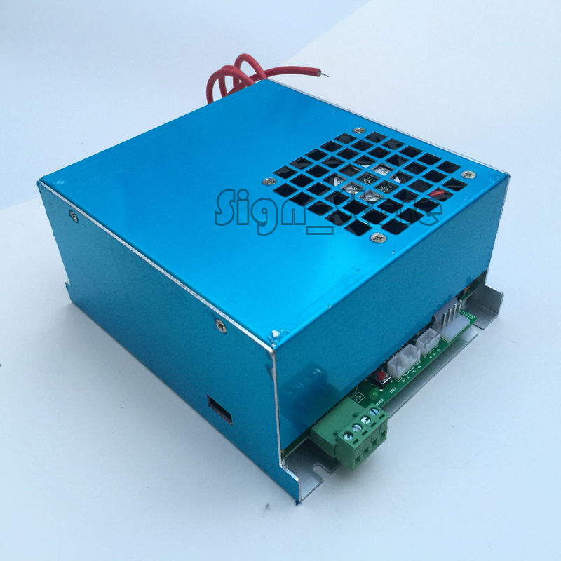 Wholesale 40W Co2 Laser Power Supply For 3020 3040 CO2 Laser Rubber Stamp Engraver Engraving Machine K40 Shenhui