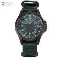 Shark Army Avenger Serie Zwarte Wijzerplaat Aantal Sport Ontwerp Mens horloges Top Brand Luxe Montre Homme Mannen Quartz Sport/SAW085