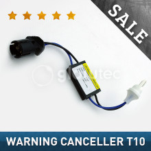 2 pcs 12 v LED Warning Canceller Decoder 501 T10 W5W NÃO Canbus Erro GLOWTEC OCB
