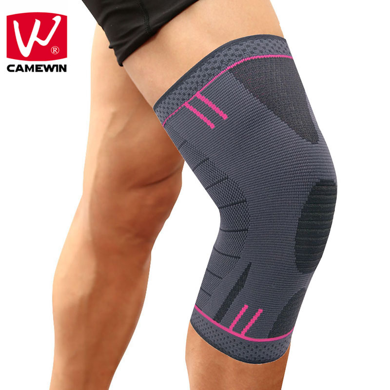 CAMEWIN 1 PCS Knee Pads,Best Knee Brace Support for Running,Jogging,Basketball,Joint Pain Relief,Arthritis and Injury Recovery pain relief machine for the bad knee pain and knee pain arthritis