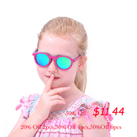 Polarized Wood Sunglasses For Kids Color Matching Frame Girls Sun Glasses Boys Sunglasses