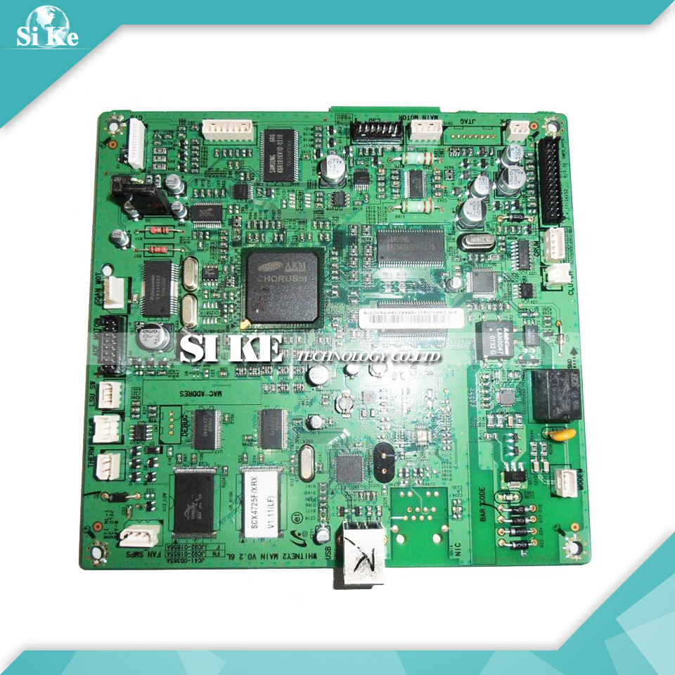 ФОТО Laser Printer Main Board For Samsung SCX-4725F SCX 4725F 4725 SCX4725F Formatter Board Mainboard Logic Board
