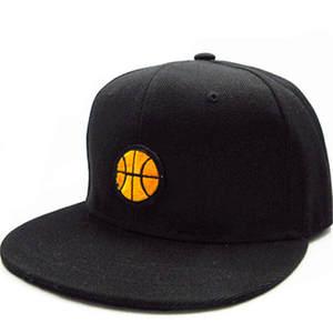 96b491ae544 LDSLYJR embroidery cotton Adjustable Snapback Hats for men