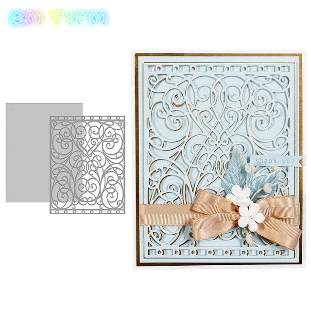 New Frames Metal Cutting Dies Stencils for DIY Scrapbooking/photo album Decorative Embossing DIY Paper Card