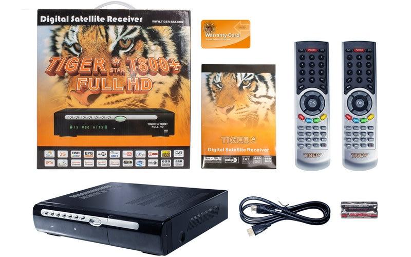 tiger t800 full hd digital satellite receiver DVB S2 1080P iptv set