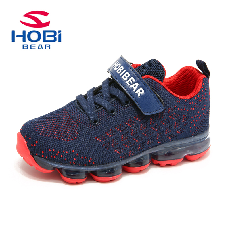 Kids Sport Shoes For Girls Sneakers Boys Children Tennis Trainers Slip on Running Mesh Breathable Footwear Basket HOBIBEAR H7635 цена