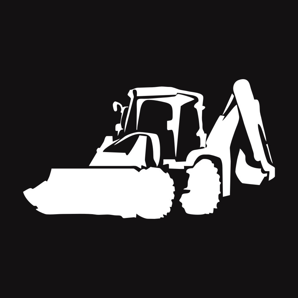 Cunymagos Jcb Digger Fashion Decor Stickers Decals Vinyl Car Accessories Car Styling Motorcycle Wall Sticker Decal 19.5cm10 (5)