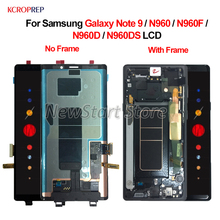 "For Samsung Galaxy Note 9 N960 LCD Display Touch Screen Digitizer Assembly 6.4"" For Samsung N960F N960D N960DS lcd 100% Tested"