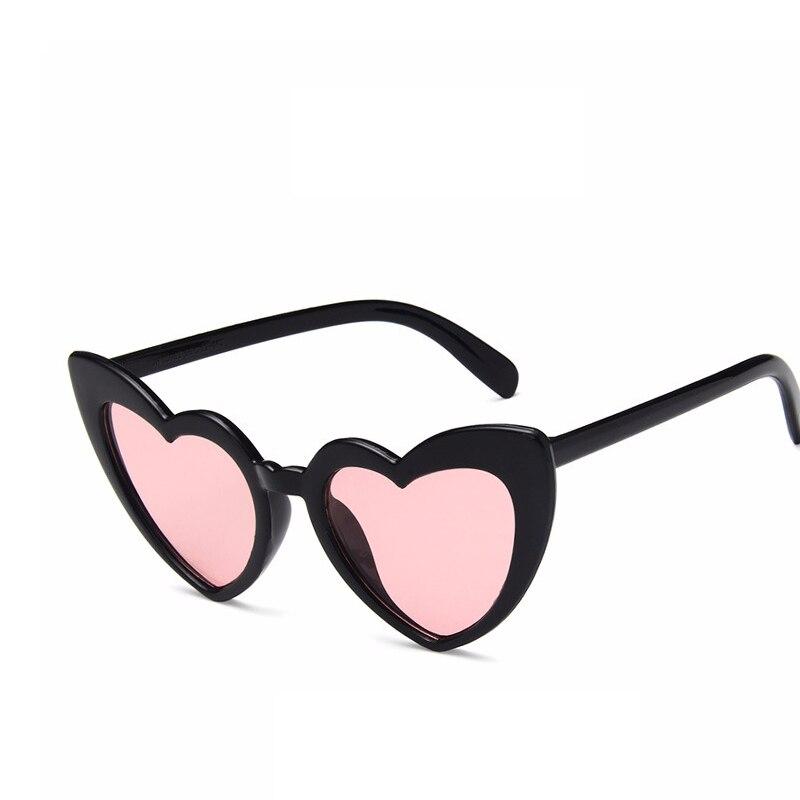 2147bc6c8b0 2018 Heart Sunglasses Women brand designer Cat Eye Sun Glasses Retro Love  Heart Shaped Glasses Ladies Shopping Sunglass UV400-in Sunglasses from  Apparel ...