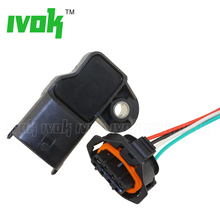С вилкой 3.5bar map Сенсор Turbo Boost Air Датчики давления для Fiat Mercedes Nissan VW 0281002456 0 281 002 456 0261230373