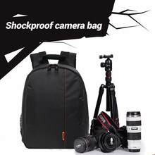 Dslr Camera Bag Waterproof Camcorder Backpack Video Photo Cam Bags For Canon For Nikon Cameras Compact Backpacks