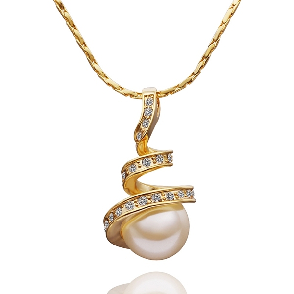 2017 women gold color india pearls charm pendant necklace chain 2017 women gold color india pearls charm pendant necklace chain jewelry ball pendulum bijouterie bijoux aloadofball Choice Image