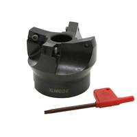 factory wholesale  75 Degree 63mm R0.8 APKT1705 insert Positive Head CNC Milling Cutter face mill Milling Cutter    -