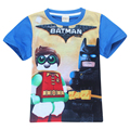 Summer clothes Batman Movie boys shirts clothes cheap things The hit cartoon TV Cotton short sleeved T-shirt