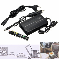Universal 120W EU Plug Laptop Car DC Charger Notebook AC Adapter Power Supply New Laptop Adapter