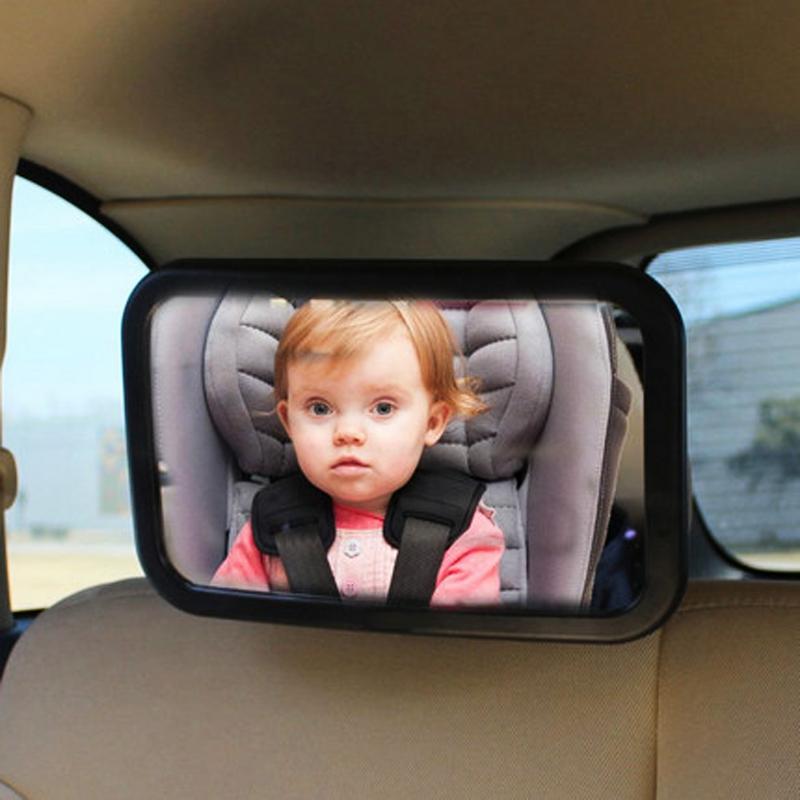 Universal Car Rear View Mirror Baby Chair Mirrors Car Safety Backseat Rear View Observe Mirror dream toys втулка 5 режимов ротации