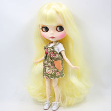 Factory Neo Blythe Doll Yellow Hair Jointed Body 30cm