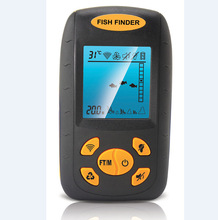 Fish Finder Ultrasonic Detection Shoal of Fish Echo Sounders Wireless Fishfinder Fishing Navigator 100M Depth Finder Underwater