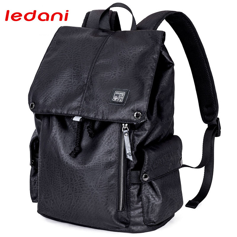 LEDANI Brand Men's Laptop Backpacks 15.6 Inch Notebook Computer Bags Fashion Preppy Boys School Backpack Male Women Travel Bags sosw fashion anime theme death note cosplay notebook new school large writing journal 20 5cm 14 5cm