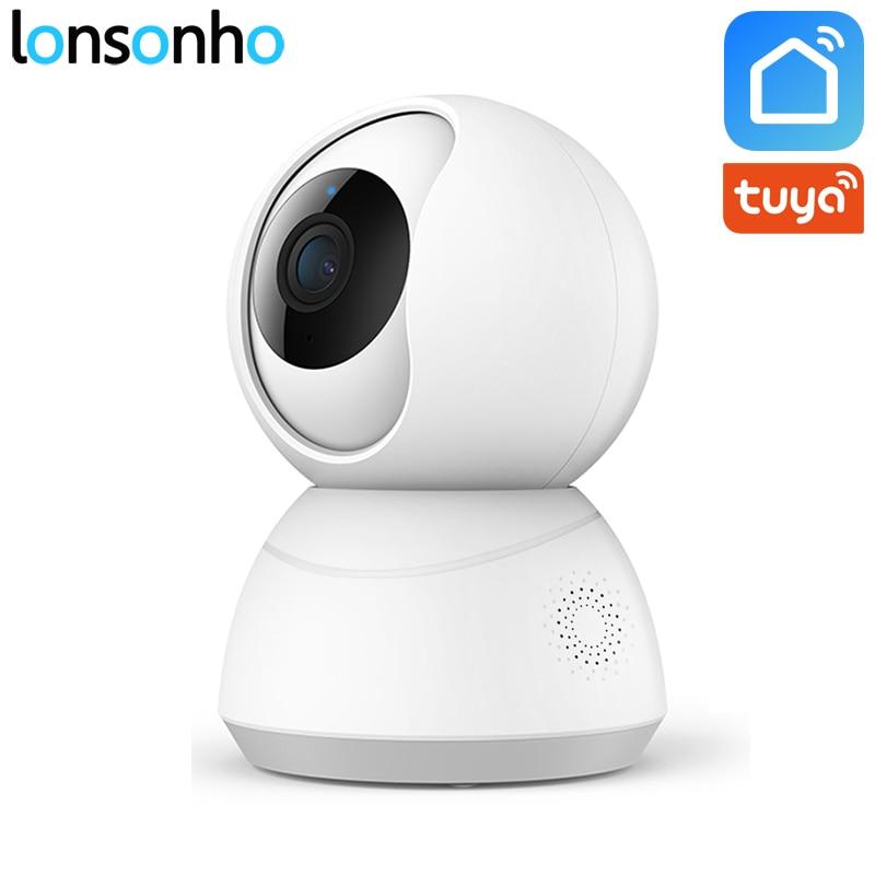 Lonsonho Smart Wifi Camera Wireless IP Camera Home Security 1080P 2MP Two Way Audio Motion Detector