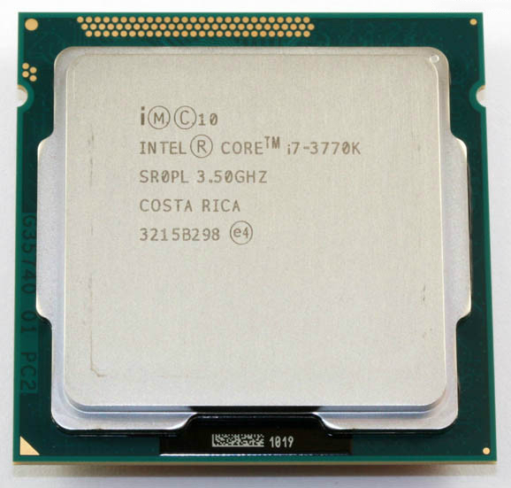 Intel Core i7 3770K 3 5GHz Quad Core 8MB Cache With HD Graphic 4000 TDP 77W