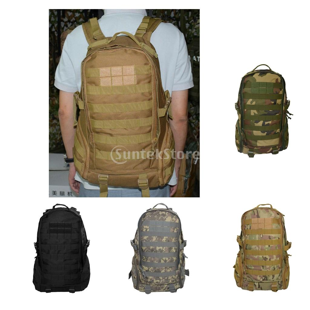 35L Outdoor Military Tactical Army MOLLE Backpack Hiking Travel Camouflage Rucksack 40l tactical military backpack molle camouflage travel outdoor sports 3d tactical travel waterproof high quality nylon rucksack