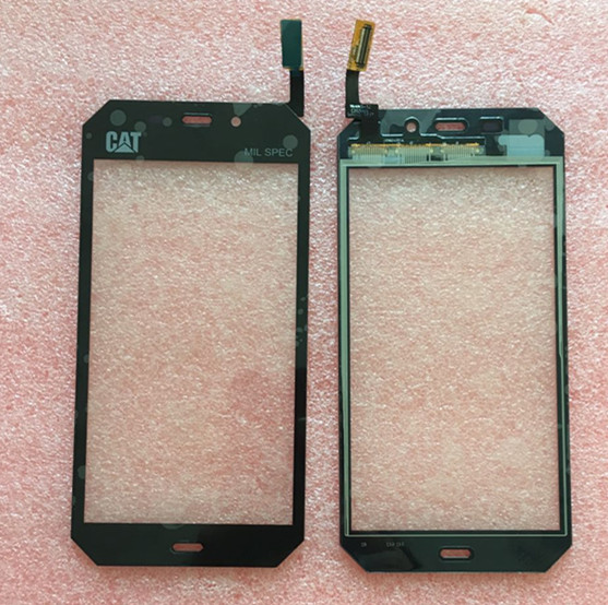 100% new Touch Screen digitizer For 4.7 Caterpillar CAT S50 black color free shipping touch screen digitizer for caterpillar cat b15 or b15q black free shipping