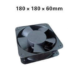 quare 180*180*50mm Aluminium Ball Bearing Airflow Fan AC220V Cooling Instrument work with Temperature controller XF1862ABH