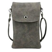 6.3 дюймов сотовый телефон сумка, матовая кожа Чехол кошелек чехол Mini Crossbody сумка с плечевым ремнем для IPhone Galaxy Note кольцо