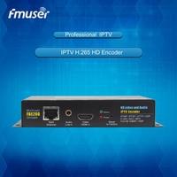 FMUSER FBE200 H.264 LAN MPEG4 /H.264 IPTV hd Encoder /HD HDMI Encoder For IPTV/ONVIF/RTMP, Live Stream Broadcast, Media Server