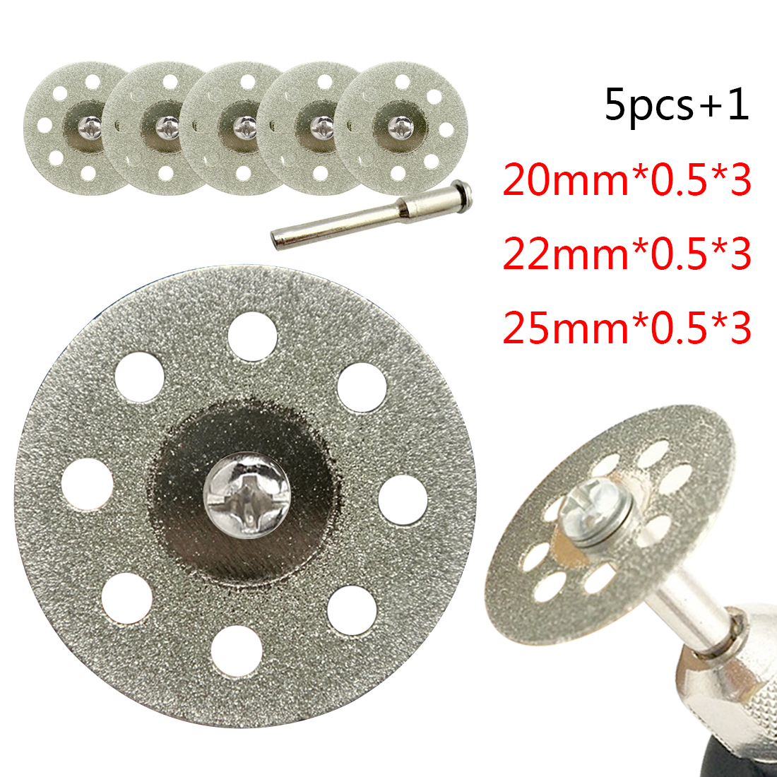 Diamond Grinding Wheel Saw Mini Circular Saw Cutting Disc Dremel Rotary Tool Cutting  Disc For Diamond Tools Dremel