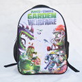 2016 New Plants vs Zombies School Backpack For Teenagers Girl Boy Primary Student Schoolbags For Kids Children Cartoon Bookbag