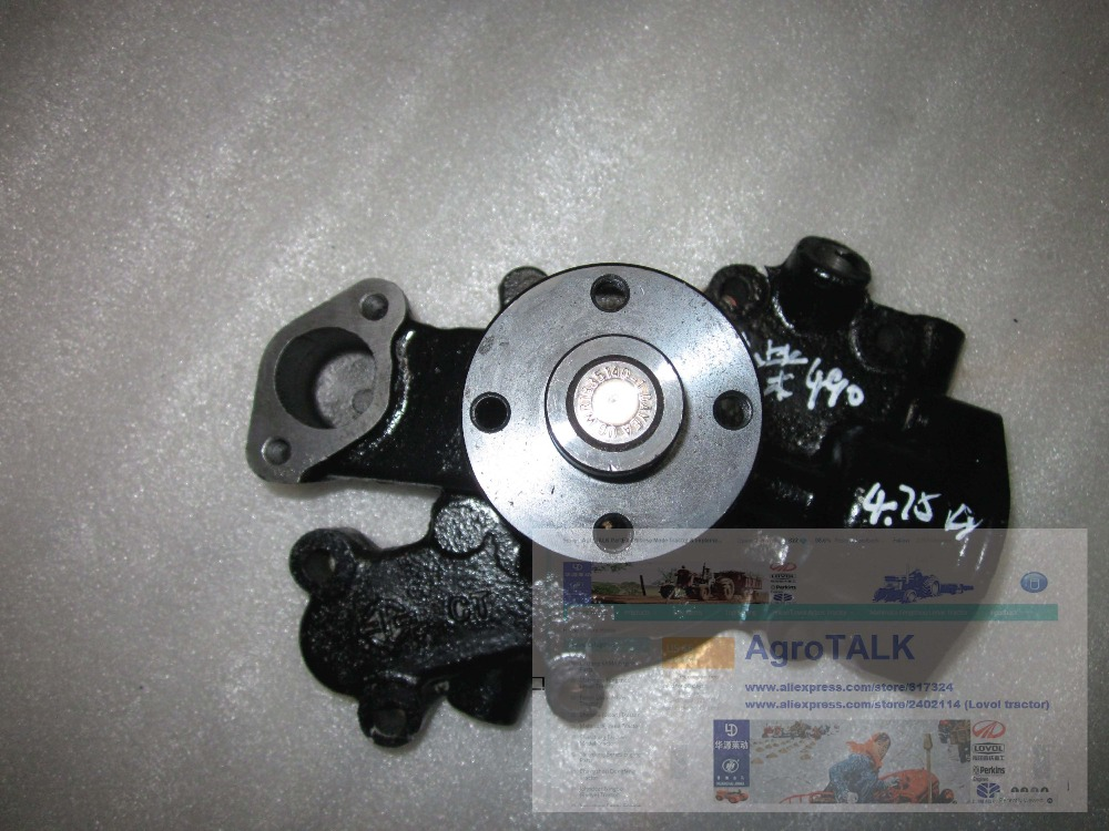 Changchai ZN490BT parts, the water pump assembly, part number: parts for changchai zn490q engine gasket piston rings cylinder liner main bearings water temp sender water pump pistons