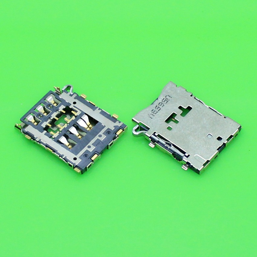 New Brand Replacement For Samsung Galaxy A3 A5 A7 Sim Card Reader Tray Holder Socket Slot Connector